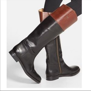 Enzo Angiolini / Ellerby - Two Tone Knee High Boot